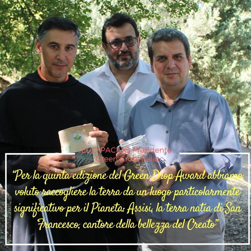 Elio Pacilio presidente Green Cross Italia